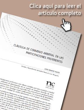 Artículo de Juan Ignacio Navas en la revista Aranzadi Doctrinal