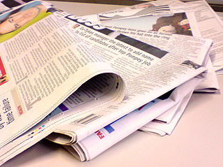 Photo: Newspaper colour - Flickr CC by  NS Newsflash