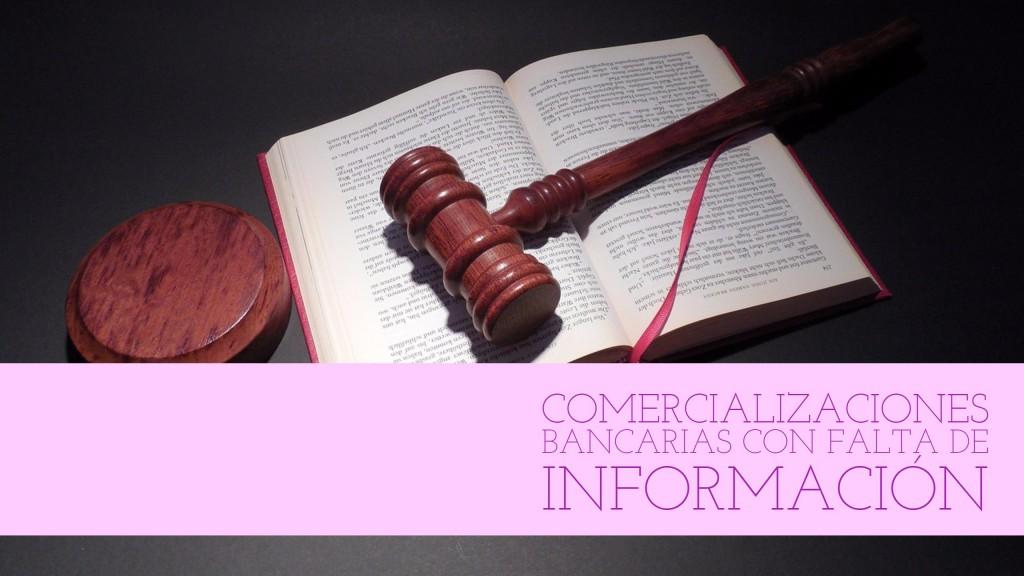 Nuevo criterio del Tribunal Supremo para el computo del plazo en comercializaciones bancarias con falta de información