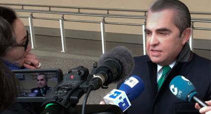 Juan Ignacio Navas en la Comisión Europea valorando la sentencia del TJUE sobre cláusulas suelo ante los medios desplazados
