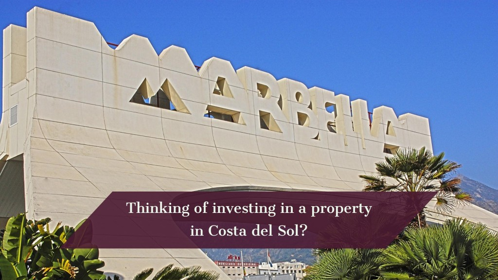 investing in a property in Costa del Sol