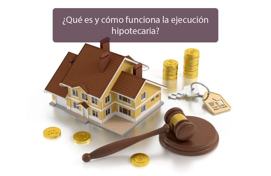 paralización de ejecuciones hipotecarias