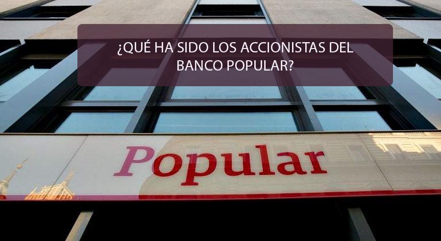 accionistas banco popular