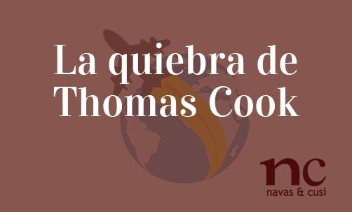 La quiebra de Thomas Cook
