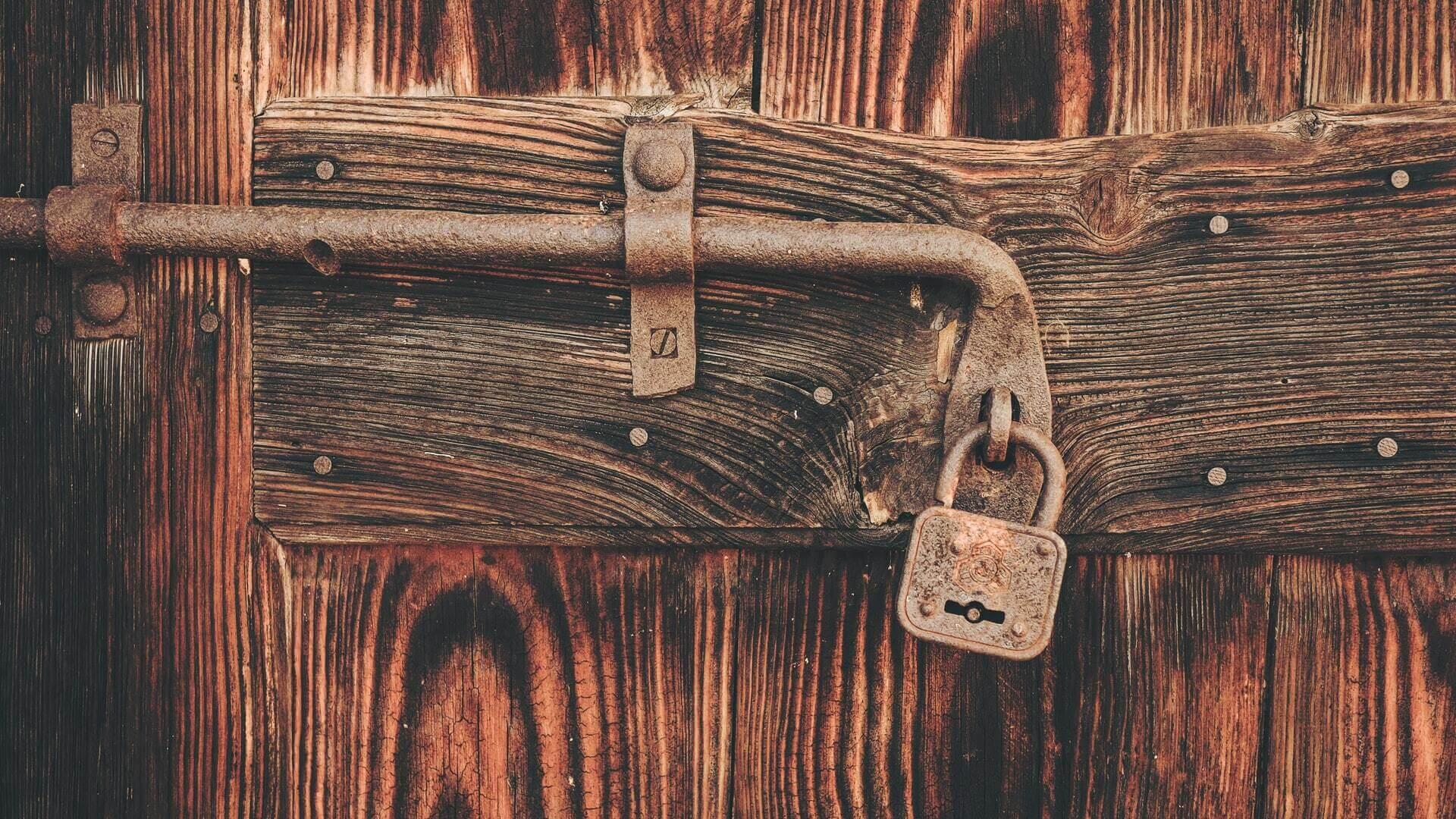 puerta candado
